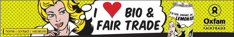 Limonade bio commerce équitable bannière I Love Bio & Fair Trade